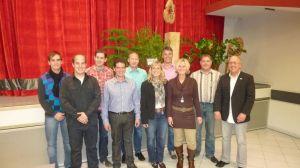 Unser Vorstand nach der Hauptversammlung 2011