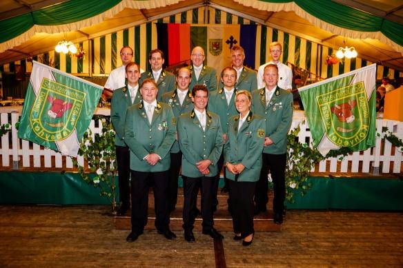 Der Vorstand im Jahr 2014