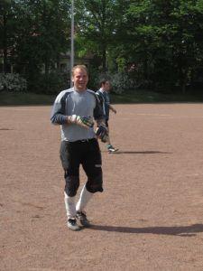 Bester Torwart des Turniers: Unser Jungschützenkönig Maurice Gröger