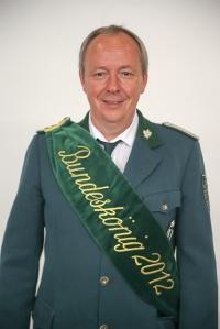 Bundesschützenkönig Wolfgang Liedtke kommt zum Schützenfest