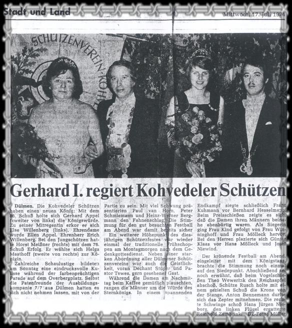 1974 Appel Willenberg, Meißner Masthoff