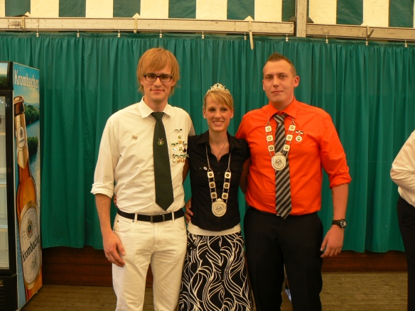 Drei mit besonderen Verdiensten: Jonas Winkler, Vanessa Jasper, Alexander Jasper (v.l.)