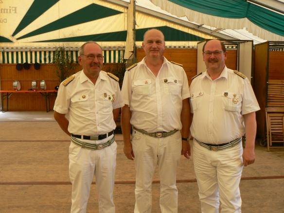 Gottfried Neumark, Martin Wewerink und Klaus Dähling mit besonderen Verdiensten