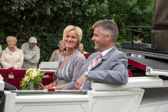 Ehrenpaar Christian Becks und Marlies Dieminger