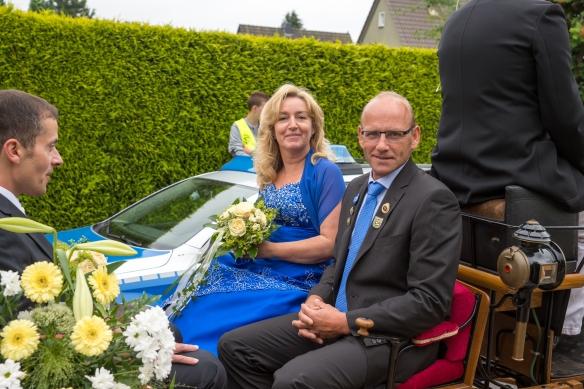 Ehrenpaar Martina Gotteswinter und Andreas Feldmann