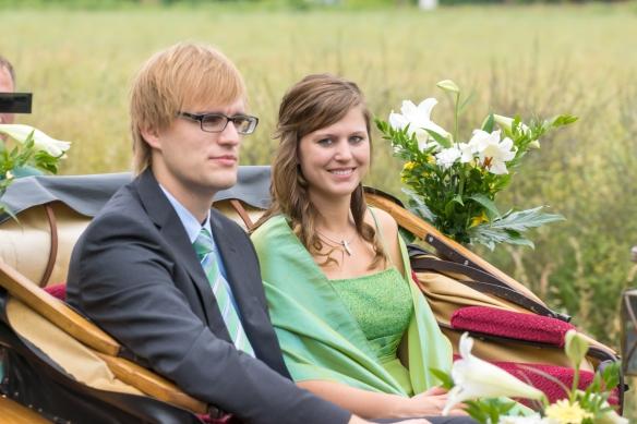 Mundschenkpaar Jonas und Annika Winkler