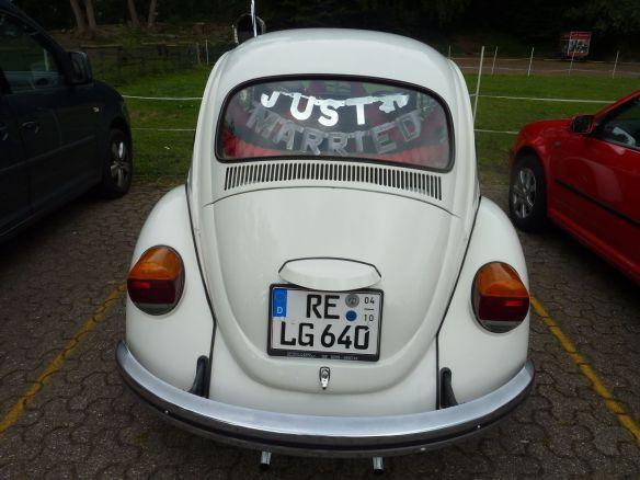 Der Käfer des Brautvaters.