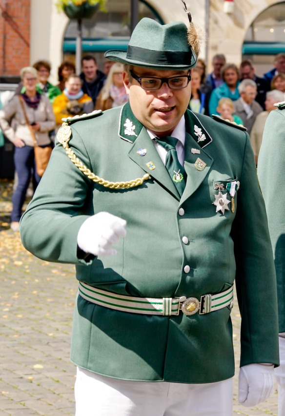 Einstimmig gewählt: Björn Strietholt ist neuer Kommandeur der Kohvedeler.