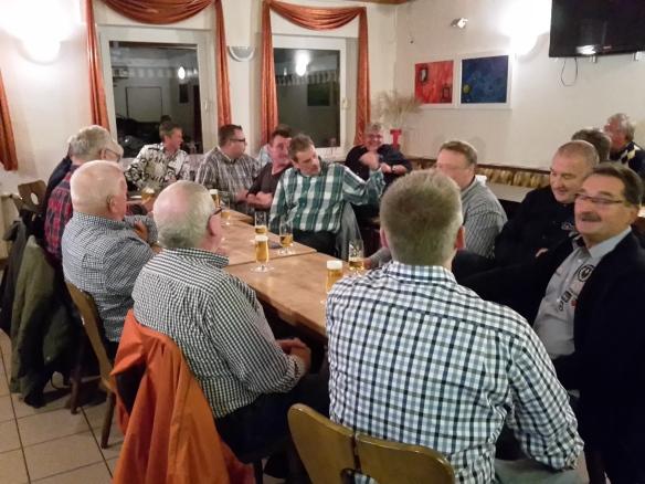 Reges Interesse und gute Beteiligung bei der Versammlung der Altschützen