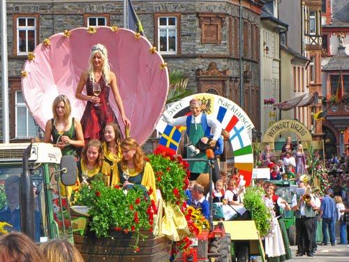 Zum Weinfest nach Ahrweiler fahren die Kohvedeler am 05.09.2015