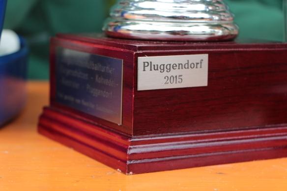 Am Anfang des Turniers noch belächelt stellte es sich am Ende als Tatsacher heraus. Pluggendorf gewinnt das Turnier und den Elfmeterpokal.