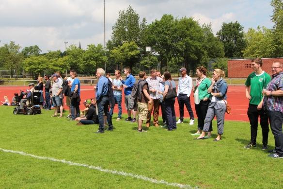 Gut besucht war das Turnier im Sportzentrum Süd.
