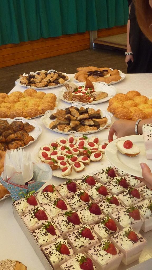 Neben Kuchen und Schnittchen auch einige ganz neue Leckerein dank der Böckerei Böckmann