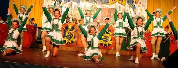 Die Wilmsberger Tanzgarde Steinfurt begeisterte