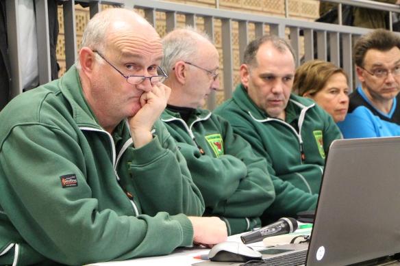 Unsere Turnierleitung mit Martin und Werner und der Cheforganisator Markus.