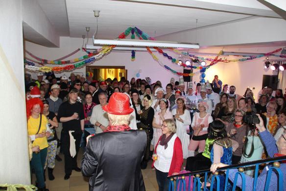 Tolle Stimmung und launige Ansprache der Bürgermeisterin (Foto: DZ Dülmen)