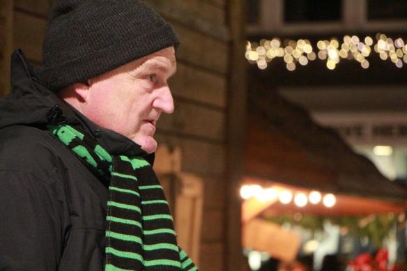 Betreuer Martin Wewerink achtete mit Argusaugen auf die korrekte Wertung